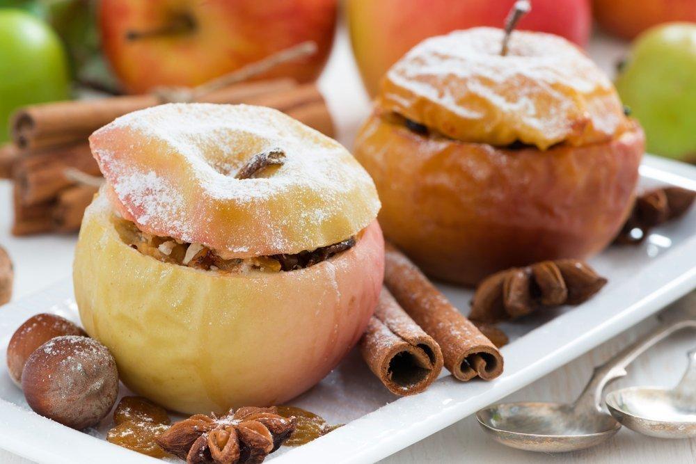 Простые блюда из яблок рецепты с фото