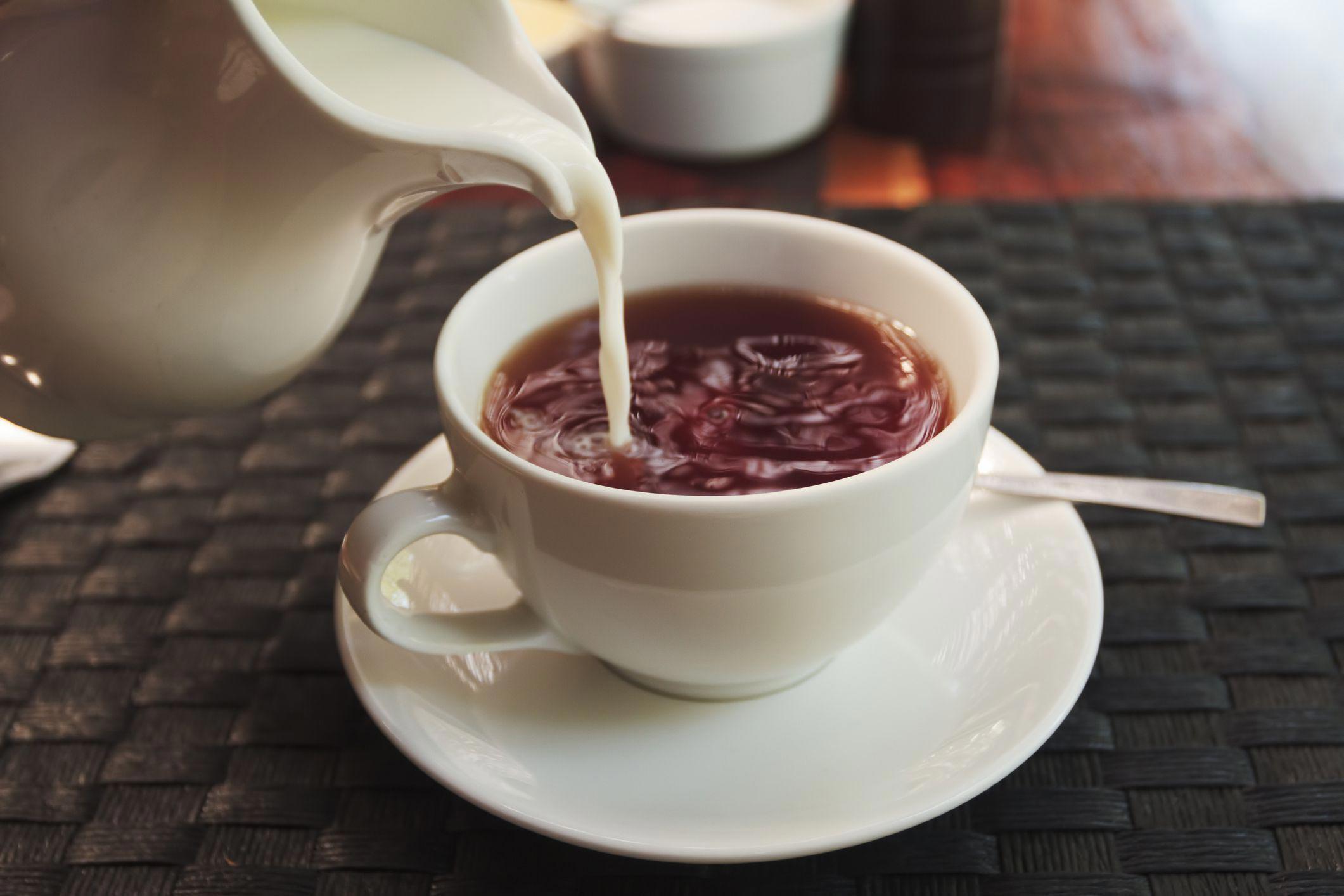 Чай с молоком с картинками что