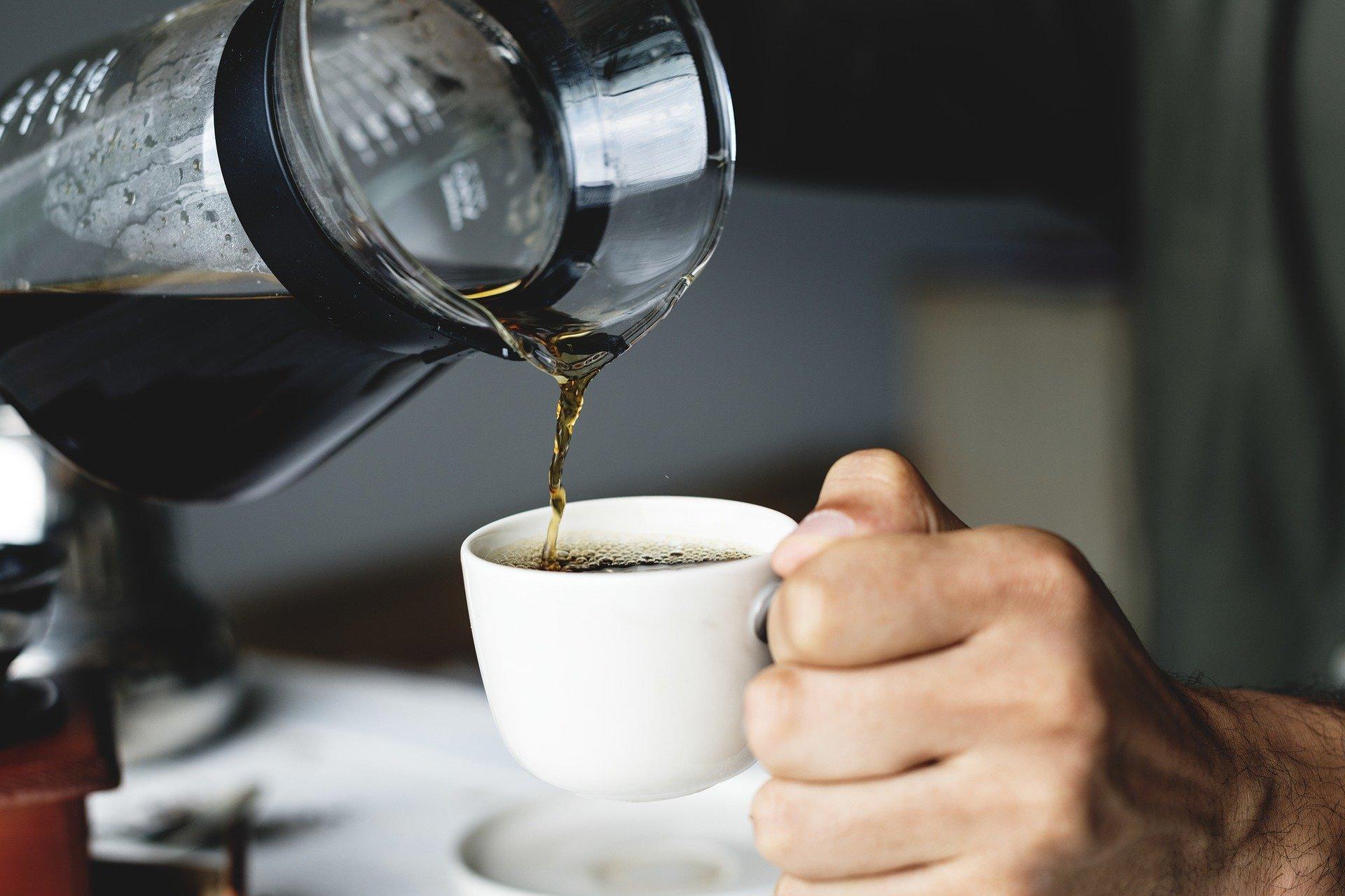 Налить кофе фото