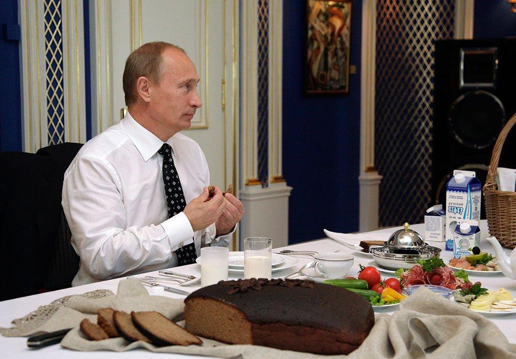 Диета путина секреты президентского меню